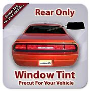 Precut Window Tint For Chevy Tracker 4 Door 1996-1998 Rear Only
