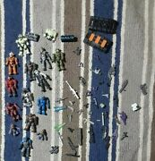 Mega Bloks Halo 15 Figures Call Of Duty Zombie Weapons Huge Lot Lego Star Wars