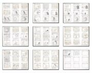 Groovie Goolies Production Storyboard Animation Art 1970s Complete 9 Page Story