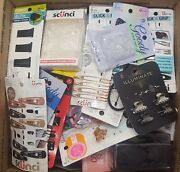 Scuncii Goody Gimme Over 1000 Pc Shelf Pull Lot Hair Ties Bands Bows Caps B246