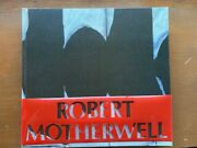 Signed Robert Motherwell  First Edition In Dust Jacket Abrams 1977
