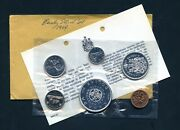 1964 Canada Proof Like 6 Coin Mint Set Sealed 1.1 Oz Silver