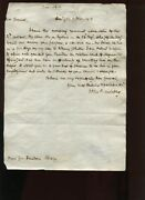 Us Secretary Of War John Armstrong Signed Jan 6 1813 Letter To General Dearborn