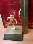 Vintage Track And Field Racing Run Running Trophy 1970s 1980s Missing Plate