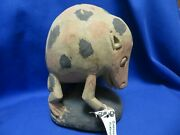 Sepik River Papua New Guinea Tikowi Carved Painted Spotted Cuscus