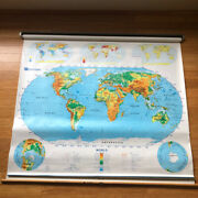 Nystrom 2 Layer Pull Down Map 1sr991 World And United States Zoom Meeting Backdrop