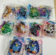 Mcdonalds Happy Meal Toys 2000 Furby Soft Keychain Collection Set Of 10 Packaged