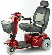 Merits Pioneer 9 3 Wheel Power Electric Mobility Scooter 500lbs Weight Capacity