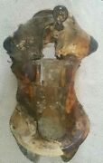 Old Wood And Leather Texas Saddle Tree Historic South Western Rustic Decorandnbsp