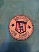 Vintage Westover Afb Job Corps Government Training Program Patch 3