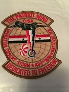 Operation Desert Storm Patriot Wing 439th Maw Westover Afb Patch Desert Tan 5