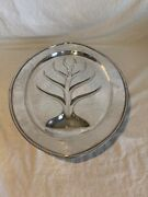 Sterling Silver Large Carving Footed Tray/platter For Meats Ham Or Turkey 20andrdquo