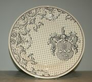 New Dinner Plate Armoiries Allure Pattern From Gien