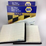 Napa Gold Air Filter Part 2821 For 2006 Corvette Lot Of 2 New Open Box