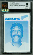 1977 Topps Loa 547 Willie Mccovey Proof Bgs 9 Mac Solo Finest Grade 185