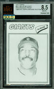 1977 Topps Loa 547 Willie Mccovey Proof Bgs 9 Mac Solo Finest Grade 183