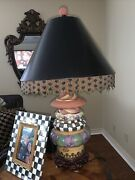 Mackenzie Childs Lighthouse Lamp Used Excellent Condition Retail 895