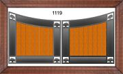 Driveway Gate Steel / Wood 12and039 Wd Home Residential Yard Security Privacy