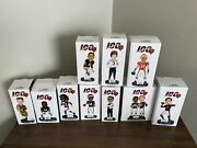 All 10 Chicago Bears 100 Year Anniversary Bobbleheads Complete Set New In Box