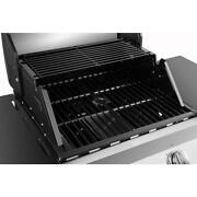 Dyna Glo Premier 2 Burner Natural Gas Grill Tool Holder Built-in Thermometer