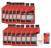 🔥motorcraft Diesel Engine Motor Oil 14quarts And Filter Kit For Ford F-250 Sd🔥