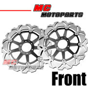 2 Pcs Front Solid Brake Disc Rotor For Ducati St2 944 97-03 98 99 00 01 02