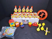 Mcdonalds Happpy Meal Toys And 18 Plastic Ornaments