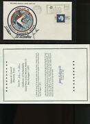 Apollo 15 Insurance Cover Astronaut Signed By Scott, Worden And Irwin With Coa