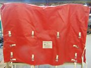 Oilfield Inc Shelters Heavy Duty Red Confienment Tie Down Tarp