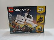 Brand New Sealed Lego Creator 3in1 Pirate Ship 31109 Toy Age 9+ 1,260 Pieces