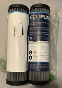 Ecopure Epw2f Premium Carbon With Fact Media-universal Whole Home Water Filter