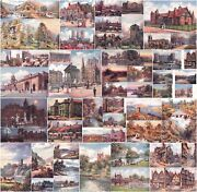 Hadfield Cubley Oilette Early 20th Cent Oilograph Postcards Groups. Picks Your