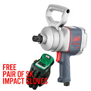 Ingersoll Rand 2175max 1 Pistol Grip Impact Wrench With D Handle   Free Gloves