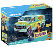 Playmobil 70286 And 70287 Scooby-doo Mystery Machine And Scooby And Shaggy