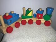 Melissa And Doug Classic Toy Wooden Stacking Train Play Set Replacement Pieces