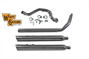 Cross Over Exhaust Header System For Harley Touring Bagger