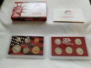 2005 S Proof Set Original Box And Coa 11 Coins 90 Silver Quarters Kennedy Us Mint