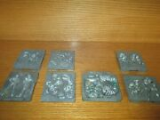 Lot Of Metal Molds Toymax And Marvel For Creepy Crawlers Thingmaker Machines