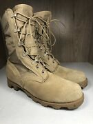 Vintage Ro Search Wellco Desert Combat Boots Tan Suede Military Size 6w