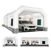 28x15x10ft Inflatable Paint Booth Portable Auto Spray Booth With Filter System