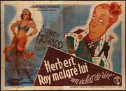 It's A King 1933 Sydney Howard, Joan Maude, Cecil Humphreys Large French Poster
