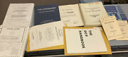Vintage 1970s-90s Aircraft Engines + Training Manuals Dc-9 Helicopter Lycoming +