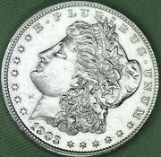 1903 Silver Dollar. Full Chest Feathers. High Grade Inv.a
