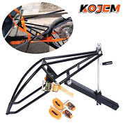 Rigid Motorcycle Receiver Hitch Hauler Trailer Tow Dolly Rack Carrier