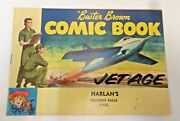 1957 Buster Brown Comic Book Jet Age Harlanand039s Chicopee Falls Mass