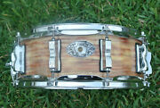 1909-2009 Ludwig Usa 100th Ann. '64 Jazz Festival Pink Oyster Snare Drum M516