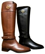 Everly Calf Leather Riding Boot