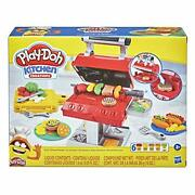 Play-doh Kitchen Creations Grill 'n Stamp Playset 6 Non-toxic Compounds Dec.9,20