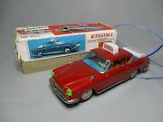 Aq931 Ichiko 1/ Fiat Autoscula Auto Ecole Rouge Made In Japan