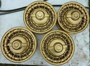 1953 1954 1955 1956 Chrysler Dodge Plymouth Wire Wheels Set 4 W/ Spinners Oem